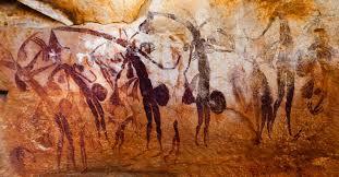 Etres surnaturels art aborigène
