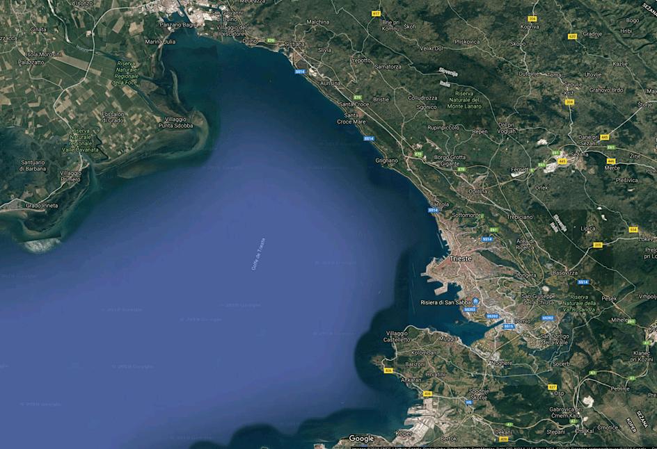 Vue de Trieste