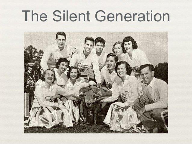 La génération silencieuse ou silent generation