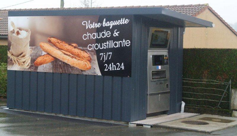 distributeur de pains